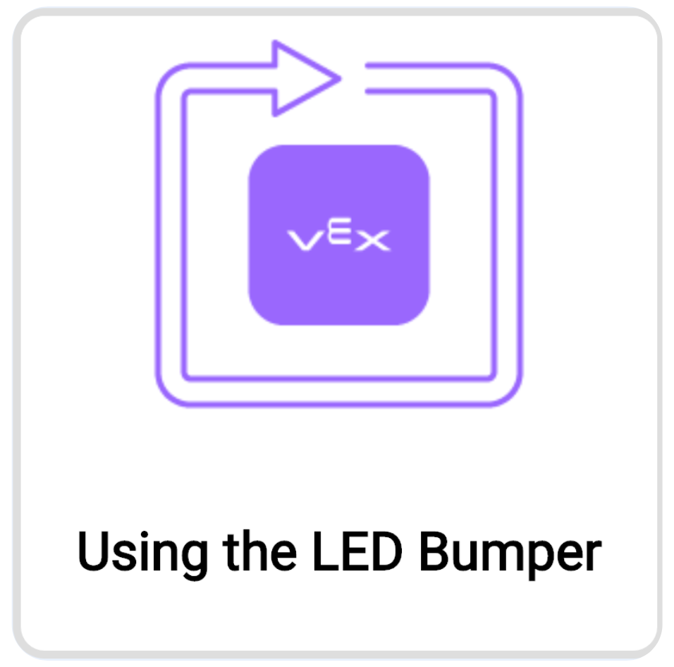 "Open ""Using the LED Bumper"" Example Project"