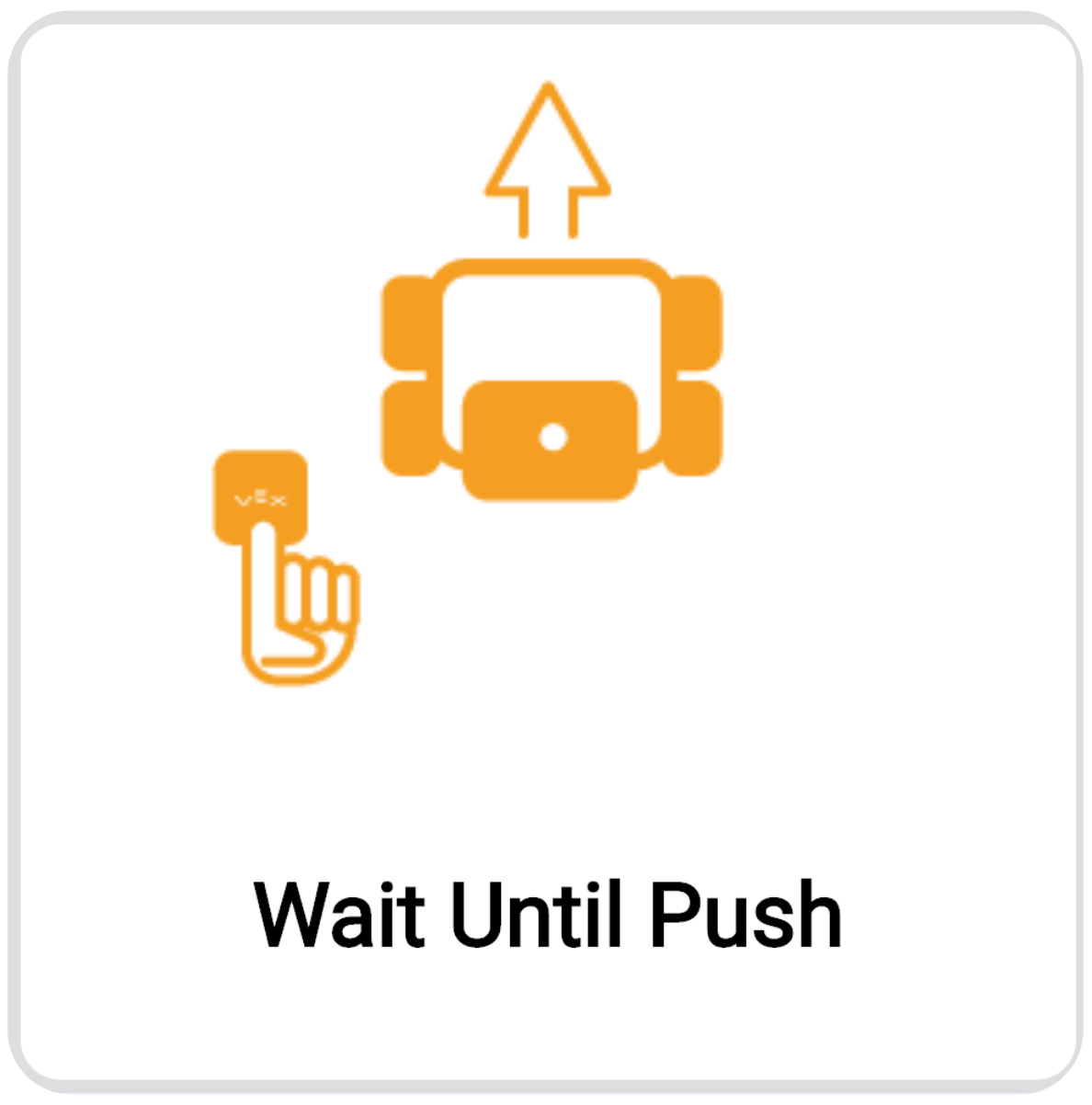 Select the Wait Unit Push Example Project